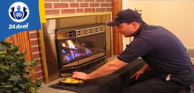 نصب و تعمیر بخاری و شومینه-آمیار24