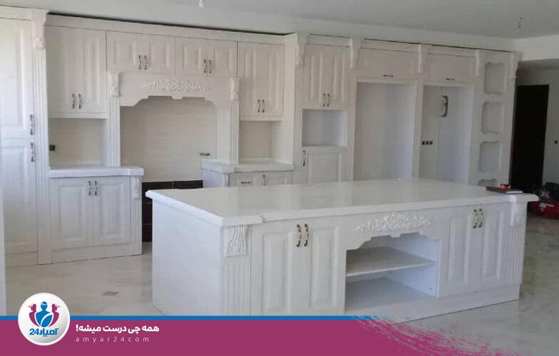 ساخت و طراحی کابینت-آمیار24