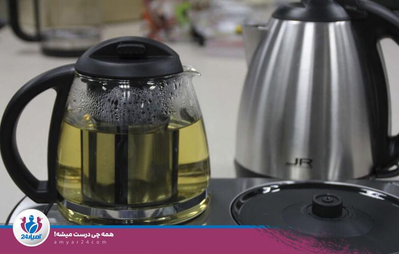 خطر آتش سوزی چایی ساز-آمیار24