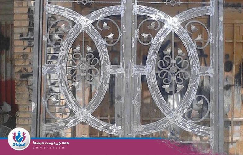 درب آهنی ساختمان-آمیار24