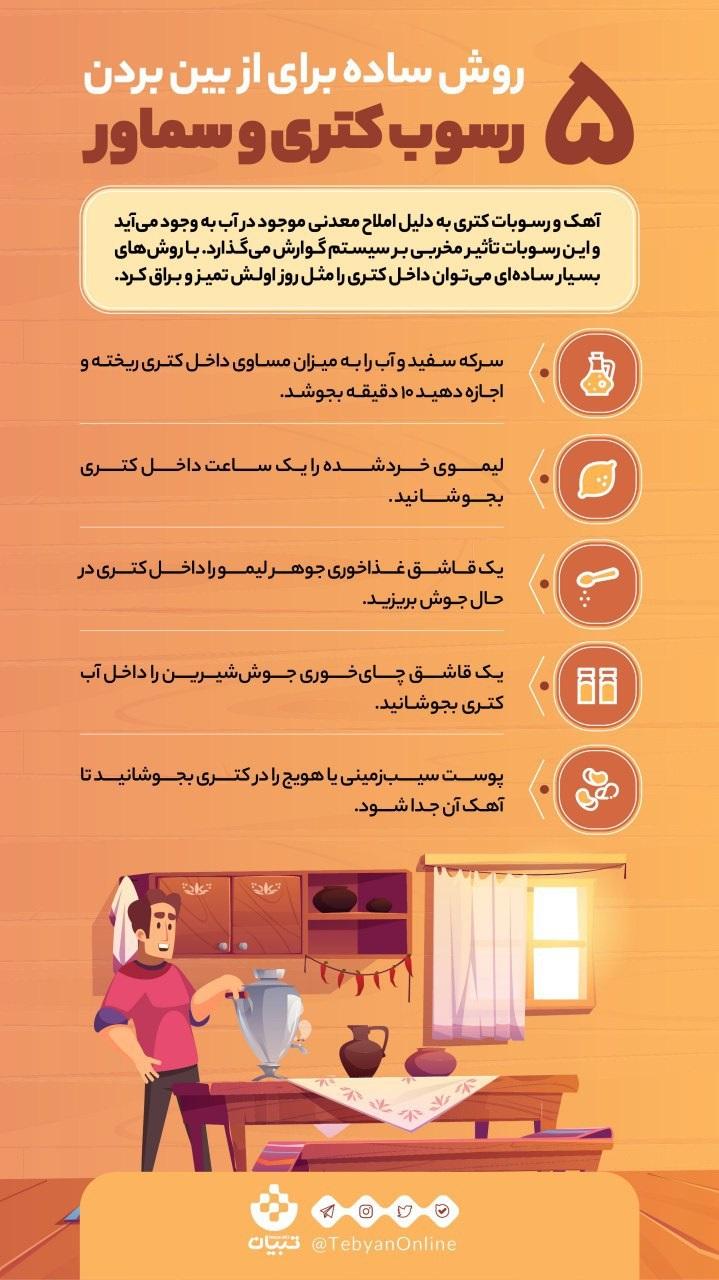 ۵روش ساده برای از بین بردن رسوب کتری-آمیار24