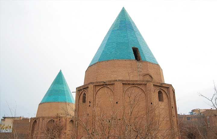 مقبره های گنبد سبز قم-آمیار24