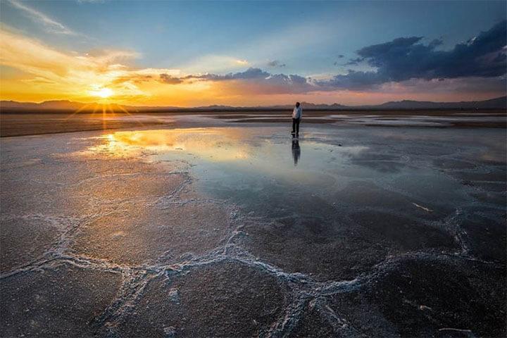 دریاچه حوض سلطان قم-آمیار24