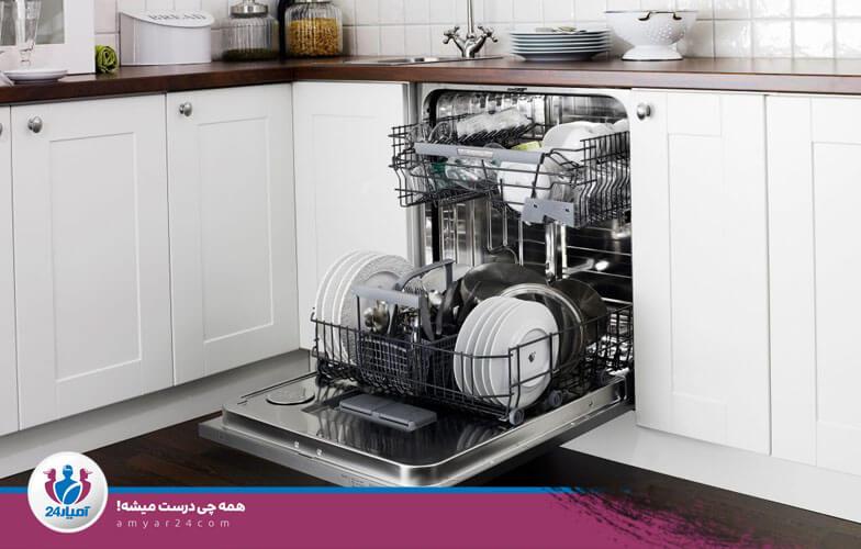 جرم گیری ماشین ظرفشویی-آمیار24